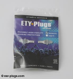 ETY Plugs Etymotic Research. Packaging