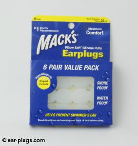 Mack's Pillow Soft Mack's. Packaging