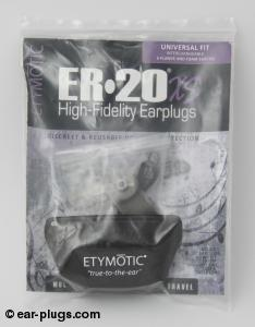 ER20XS Etymotic Research. Packaging