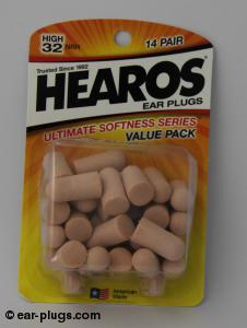Hearos Ultimate Softness Series Hearos. Packaging